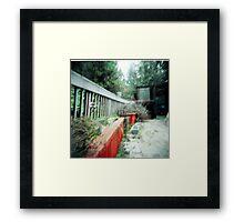 overgrown. Framed Print
