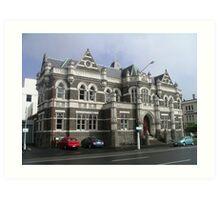 Beautiful Old Building, Dunedin New Zealand. Art Print