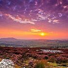 Sunset Shropshire Hills by James  Key