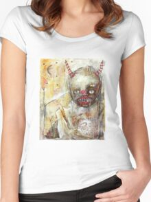 Devil Woman Women's Fitted Scoop T-Shirt