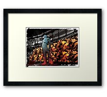 Autumn In Madrid Framed Print