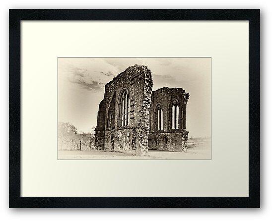 Egglestone Abbey by Trevor Kersley