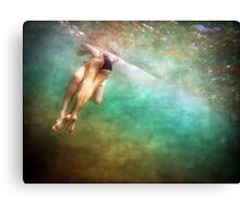 Hidden View ~ Young Love 3 Canvas Print