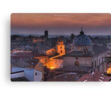 an italian cityscape Canvas Print