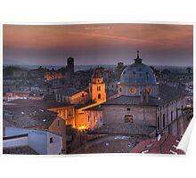an italian cityscape Poster