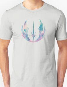 Watercolor Jedi Order (black) Unisex T-Shirt