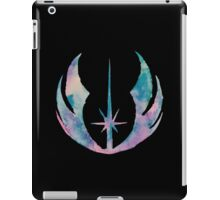 Watercolor Jedi Order (black) iPad Case/Skin