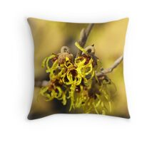 Witch Hazel Throw Pillow
