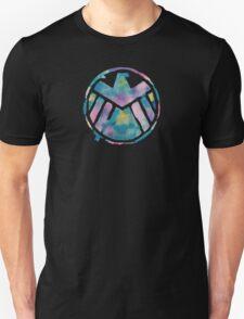 Watercolor S.H.I.E.L.D. (black) T-Shirt