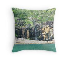 Cairns Coastline Throw Pillow
