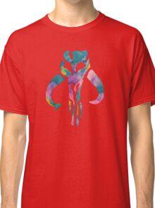 Watercolor Fett (black) Classic T-Shirt