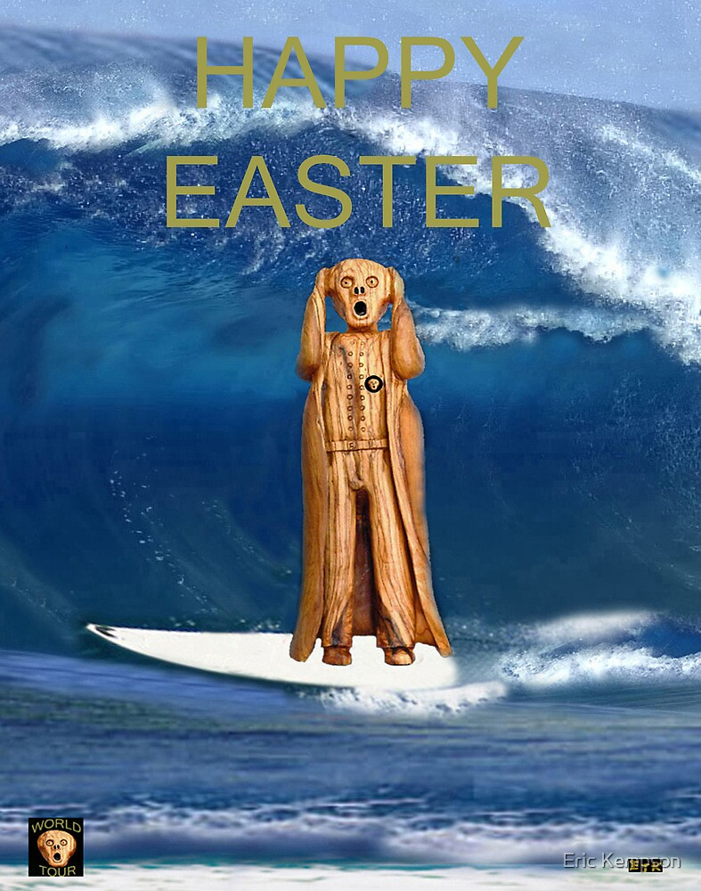 Surfing The Scream World Tour Happy Easter by Eric Kempson