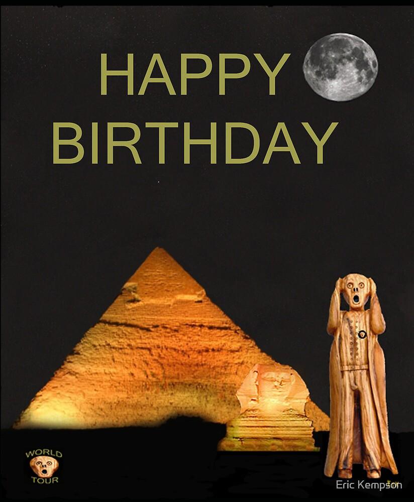 The Scream World Tour Egypt Happy Birthday by Eric Kempson