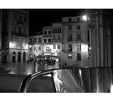 coimbra from café Photographic Print