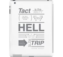 Winston Churchill- Tact iPad Case/Skin