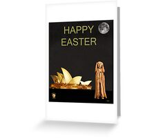 The Scream World Tour Sydney Happy Easter Greeting Card