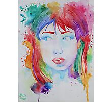 Electric Gal  Photographic Print