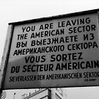 Checkpoint Charlie by Paul  Nelson