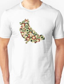 Pomeranian - Animal Art T-Shirt