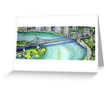 Brisbane  Greeting Card