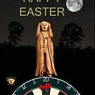 The Scream World Tour Darts Happy Easter by Eric Kempson