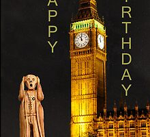 The Scream World Tour London Happy Birthday by Eric Kempson