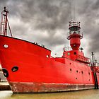 Lighthouse Ship Kent UK by Robert Radford