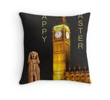 The Scream World Tour London Happy Easter Throw Pillow