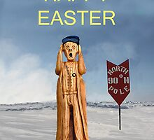 The Scream World Tour North Pole Happy Easter by Eric Kempson