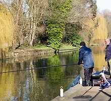 Angling on the Wensum by BizziLizzy