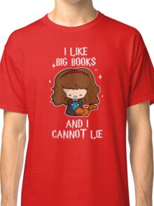 I Like Big Books - Brightest Witch Classic T-Shirt