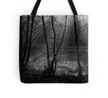 Mist on the Water Tote Bag