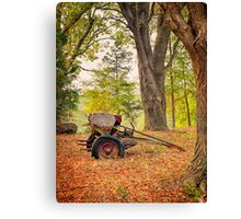Abandoned Seeder East Texas Canvas Print