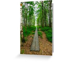 The beggining of a journey Greeting Card