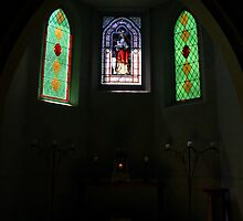 the chapel, old Convent, Daylesford. by geof