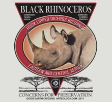 black rhino by arteology