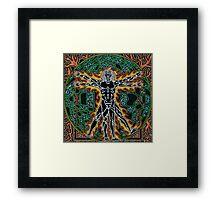 Vitreevian Man, Ink & Pencil Framed Print