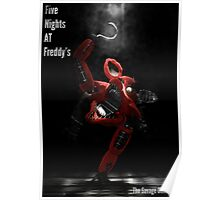 Five Night's At Freddy's: Foxy - Poster Poster