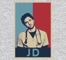JD Scrubs poster One Piece - Long Sleeve