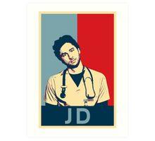 JD Scrubs poster Art Print