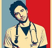 JD Scrubs poster by darkdrake