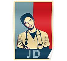 JD Scrubs poster Poster