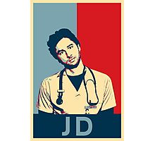 JD Scrubs poster Photographic Print