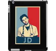 JD Scrubs poster iPad Case/Skin