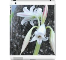 Barbados Spring Theme - Flowers iPad Case/Skin