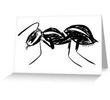 ant Greeting Card