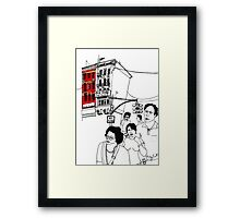 Chinatown (NYC) Framed Print