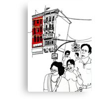 Chinatown (NYC) Canvas Print