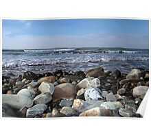 pebble shore Poster