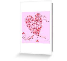 My heart bleeds Greeting Card